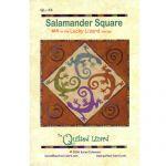 LUCKY LIZARD - #4 SALAMANDER SQUARE QUILT PATTERN