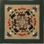 Mountain Moose #5 Circle of Friends Series Applique Pattern