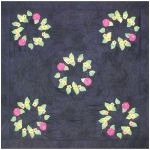Big Ruched Bouquet w/Acrylic Template and Doily Quilt Pattern