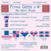 LAZY GIRL FLYING GEESE RULER*