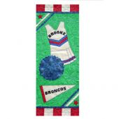 ALL STAR CHEERLEADING QUILT PATTERN