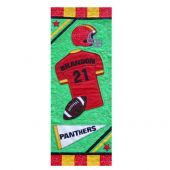 ALL STAR FOOTBALL QUILT PATTERN