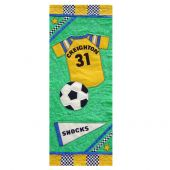 ALL STAR SOCCER QUILT PATTERN