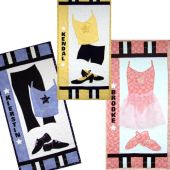 DANCE STAR  QUILT PATTERN