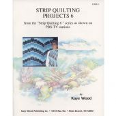 STRIP QUILTING PROJECTS 6 QUILT PATTERN BOOK*