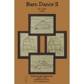 Barn Dance II Embroidery Pattern
