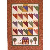 COZY HEARTS QUILT PATTERN