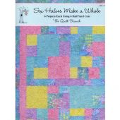 SIX HALVES MAKE A WHOLE QUILT BOOK