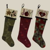 The Stockings Were Hung Quilt Pattern