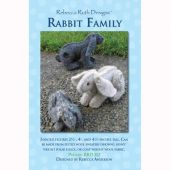 Rabbit Family Figure Pattern