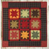 HOMESPUN STARS COMPLETE QUILT KIT