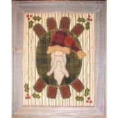 SAINT NICK  PENNYRUG PATTERN