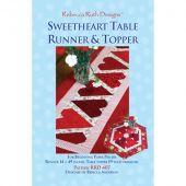 Sweetheart Table Runner & Topper Quilt Pattern