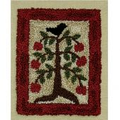 APPLE TREE PUNCHNEEDLE COMPLETE KIT