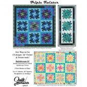 Triple Twister Quilt Pattern