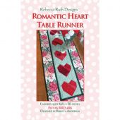 Romantic Heart Table Runner Quilt Pattern