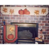 AUTUMN HARVEST MANTEL SERIES QUILT PATTERN