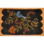 Bird In Bloom Wool Table Mat Quilt Pattern