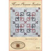 Mount Pleasant Baskets Wall Hanging Quilt Pattern