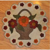 Harvest Blooms Pennyrug Quilt Pattern