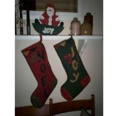 OLD FASHIONED CHRISTMAS SOCKS