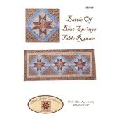Battle of Blue Springs Table Runner Quilt Pattern