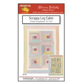 SCRAPPY LOG CABIN QUILT PATTERN*