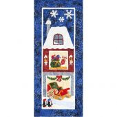 The Holiday Ladies The Sleigh Barn Quilt Pattern