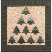 O' CHRISTMAS TREE QUILT PATTERN