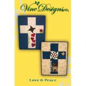 Love & Peace Wall Hanging/Banner Pattern