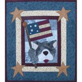 PATRIOTIC DOG PATTERN*