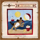 Li'l Woolies August Beach Puppy Wool Wall Hanging