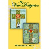 Worship & Pray Wall Hanging/Banner Pattern