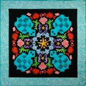 Turquoise Turtles #1Circle of Friends Series Applique Pattern