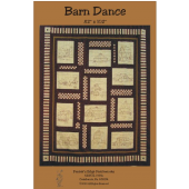 Barn Dance I Embroidery Pattern