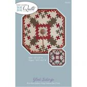 Glad Tidings Table Topper & Tree Skirt Quilt Pattern