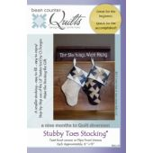 Stubby Toes Stocking Quilt Pattern