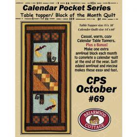 Calendar Pocket Series - October Pattern