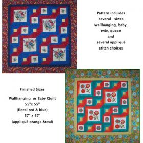 Make It Your Own Wallhanging or Quilt
