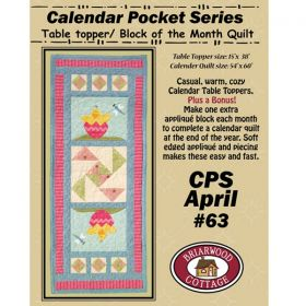 Calendar Pocket Series - April Pattern