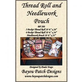Thread Roll/Needlework Pouch Pattern