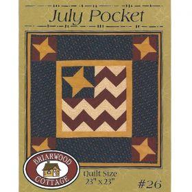 July Pocket Flag Quilt Pattern