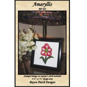 Amaryllis Punch Needle Pattern