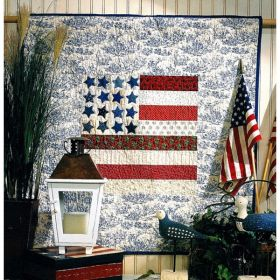 Grand Old Flag Quilt Pattern*