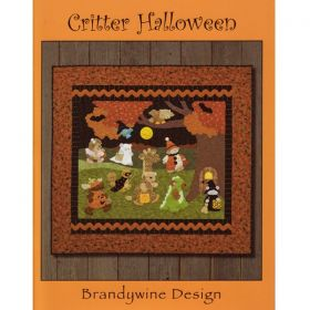 Critter Halloween Quilt Pattern Book