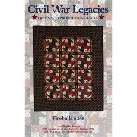 Fireballs Civil War Legacies Quilt Pattern