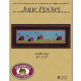 June Pocket Ladybugs Quilt Pattern