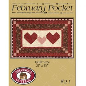 February Pocket Hearts Quilt Pattern