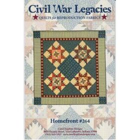 Homefront Civil War Legacies  Quilt Pattern