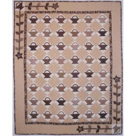 Little Brown Baskets Vintage Collection Quilt Pattern
